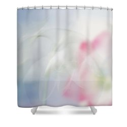 Shower Curtain featuring the photograph Bridal Veil by Annie Snel