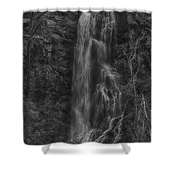 Bridal Veil Falls At Spearfish Canyon South Dakota Shower Curtain