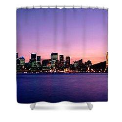 Bridge Across The Sea, Sydney Opera Shower Curtain