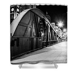 Bridge Arches Shower Curtain by Melinda Ledsome