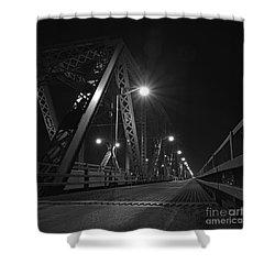 Bridge Night Shower Curtain