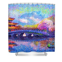 Bridge Of Dreams Shower Curtain