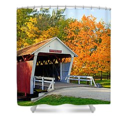 Bridge Of Madison County Shower Curtain