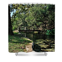 Bridge Of Serenity Shower Curtain