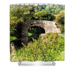 Bridge Over Still Waters Shower Curtain