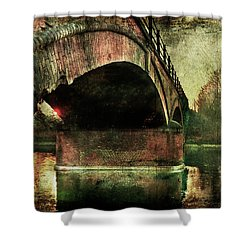 Bridge Over The Canal Shower Curtain
