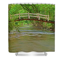 Bridge Over Valley Creek Shower Curtain