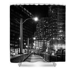 Long Walk Home Shower Curtain