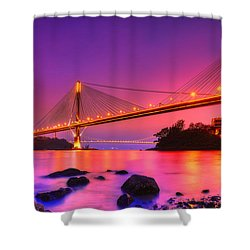 Bridge To Dream Shower Curtain