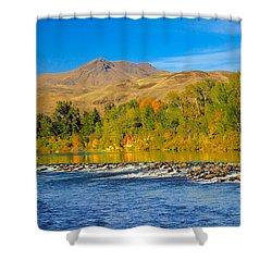 Bridge View Shower Curtain by Robert Bales