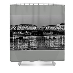 Bridges Over Forever Shower Curtain by Louis Dallara