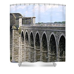 Bridging The Boyne Shower Curtain