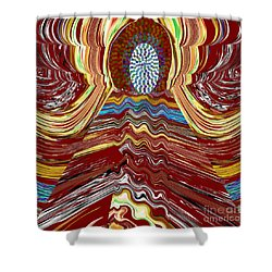 Bridge To Holy Grail Of Mystical Energies Whimisical Abstract By Navinjoshi At Fineartamerica.com  Shower Curtain