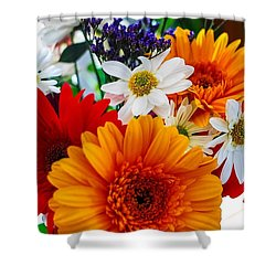 Shower Curtain featuring the photograph Bright by Angela J Wright
