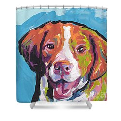 Bright Brit Shower Curtain by Lea S