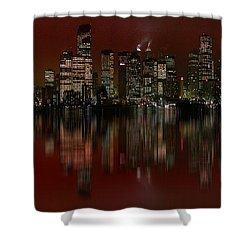 Bright Lights Shower Curtain by Stuart Turnbull