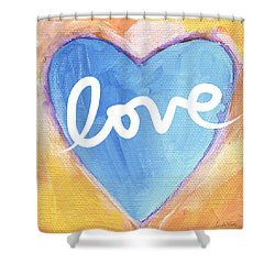 Bright Love Shower Curtain