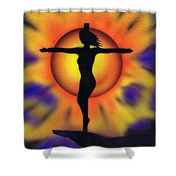 Bring Me Back To Life. Shower Curtain