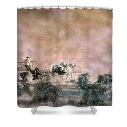 Bringing In The Sheaves II Shower Curtain