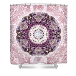 Bringing Light Shower Curtain