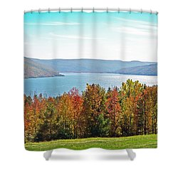 Bristol Harbour View Shower Curtain