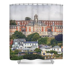 Britannia Royal Naval College Shower Curtain