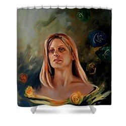 Britt Shower Curtain by Jolante Hesse