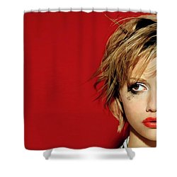 Brittany Murphy Tribute Shower Curtain