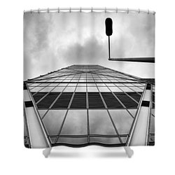 Broadgate Tower Shower Curtain