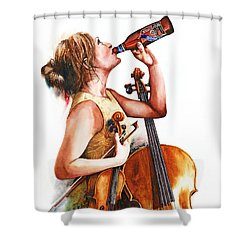 Broadside Shower Curtain