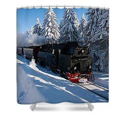 Brockenbahn Shower Curtain
