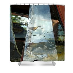 Shower Curtain featuring the photograph Broke by Newel Hunter