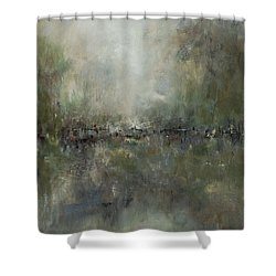 Broken Fences Shower Curtain by Frances Marino
