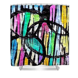Broken Fences Shower Curtain by Joan Reese