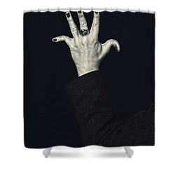 Broken Fingers Shower Curtain by Joana Kruse
