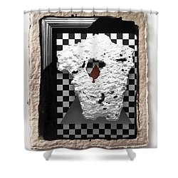 Broken Heart  Shower Curtain by Mauro Celotti
