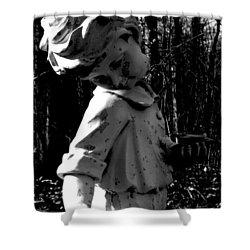 Broken Memorial Shower Curtain by Kristie  Bonnewell