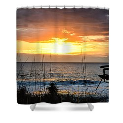 Brokenness And Beauty  Shower Curtain by Mary Ward