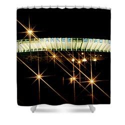 Bronx Night  Iv Yankee Stadium Shower Curtain