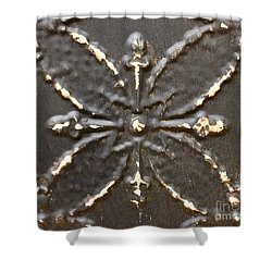 Bronze Shower Curtain by M West