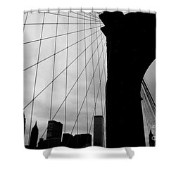 Brooklyn Bridge No.2 Shower Curtain
