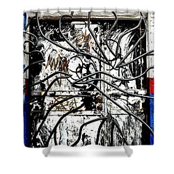 Broome Street Found Art Nyc Shower Curtain