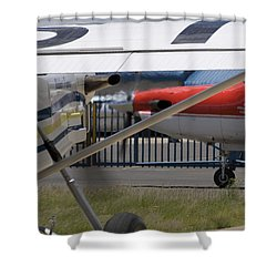 Brother And Sister Shower Curtain by Paul Job