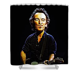 Bruce Shower Curtain by Bill Cannon