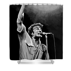 Bruce Springsteen Shower Curtain by Meijering Manupix