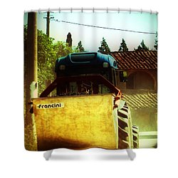 Brunello Taxi Shower Curtain