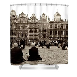 Brussel's Trance Shower Curtain