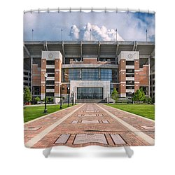 Bryant Denny Stadium Shower Curtain