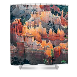 Bryce Canyon At Sunrise Shower Curtain