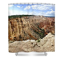 Bryce Panoramic Shower Curtain